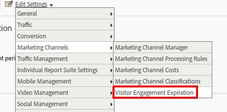 visitor engagement expiration