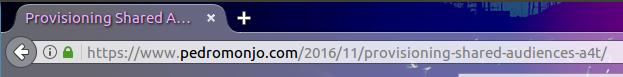 browser address bar