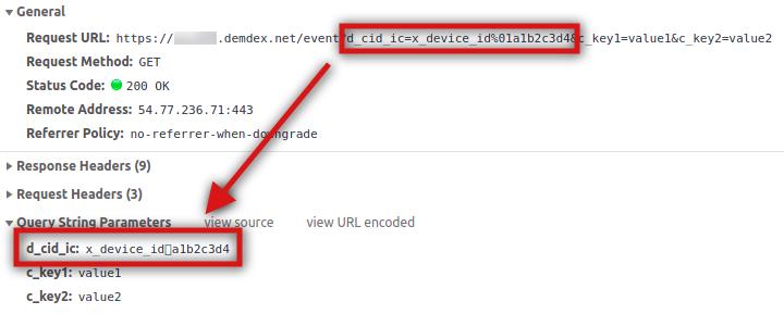 declared ID in pixel