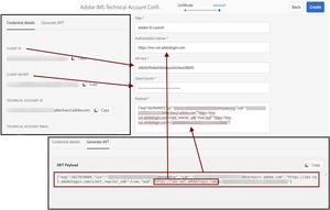 AEM - Adobe IO Credentials